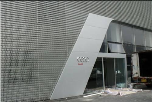 奥迪展厅幕墙板